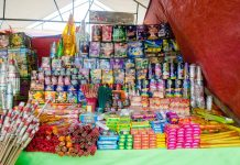 sale of fireworks