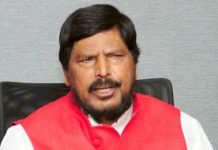 Union Minister Ramdas Athaval